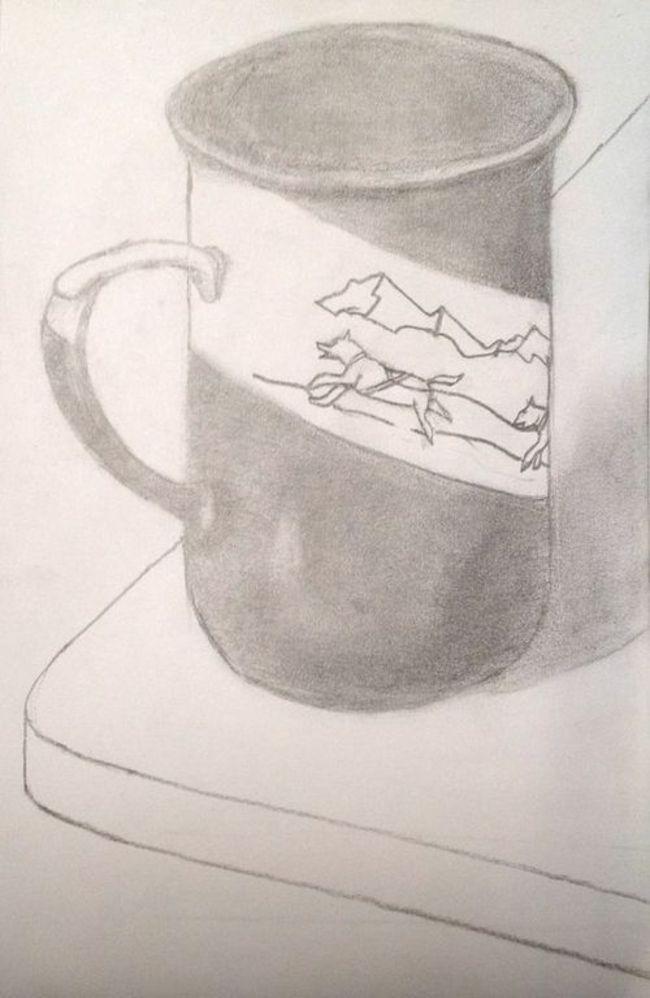Alaska Mug sketch