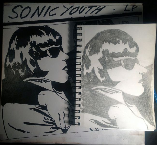 Sonic Youth Album Cover Copy