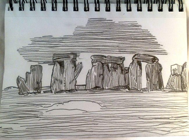 Stonehenge sketch