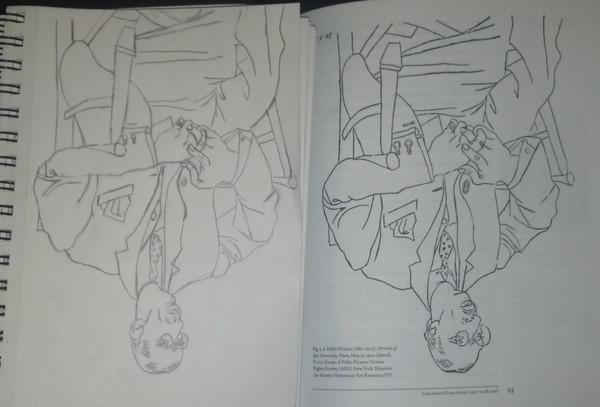 upside-down Igor Stravinsky